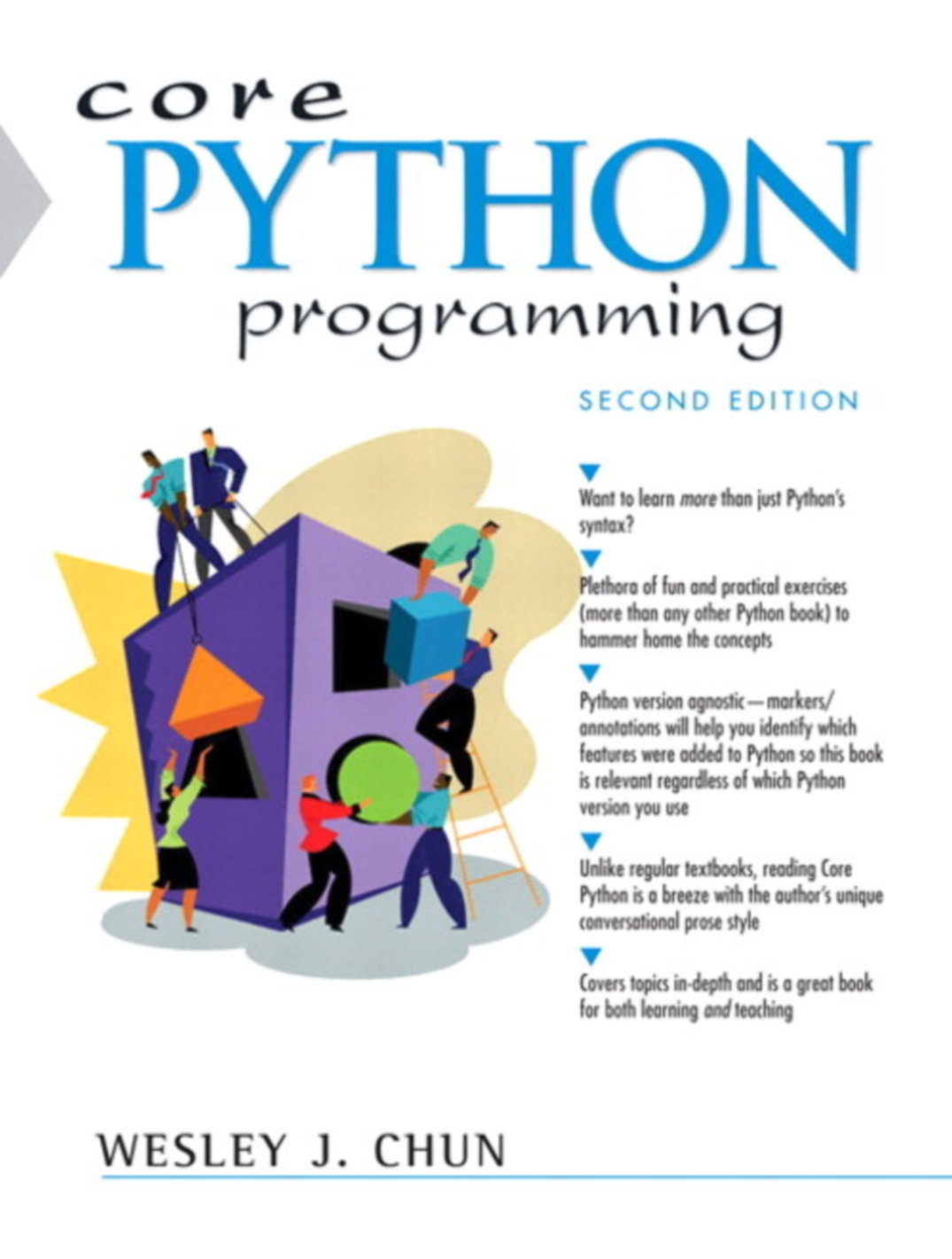 Book Review Core Python Programming By Wesley J Chun