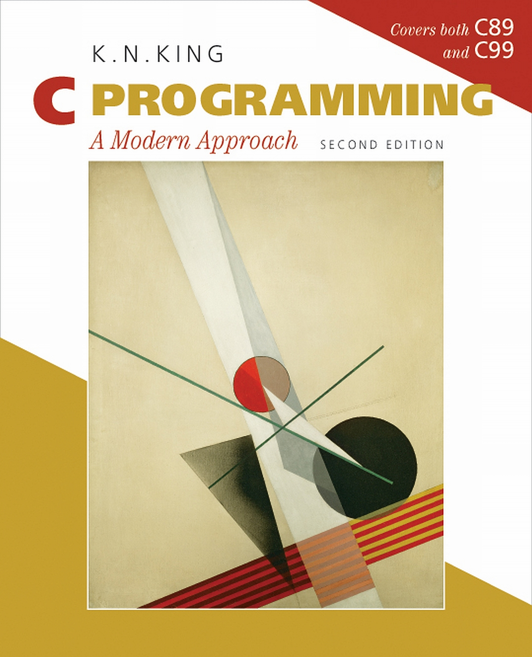 Modern Book Cover ~ Book review c programming a modern approach by k n king
