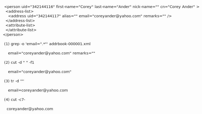 Convert XML to CSV the ugly way using Unix utilities