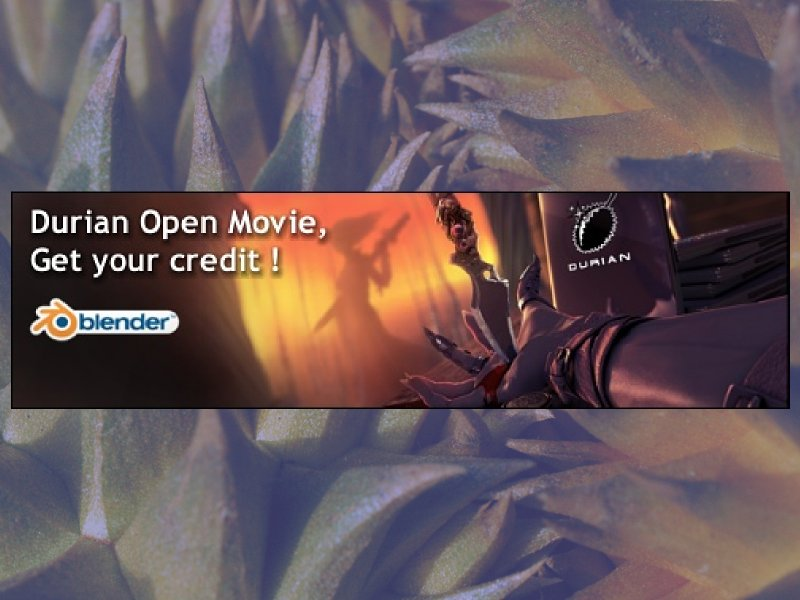 Durian is Coming: Blender's Third Open Movie Project
