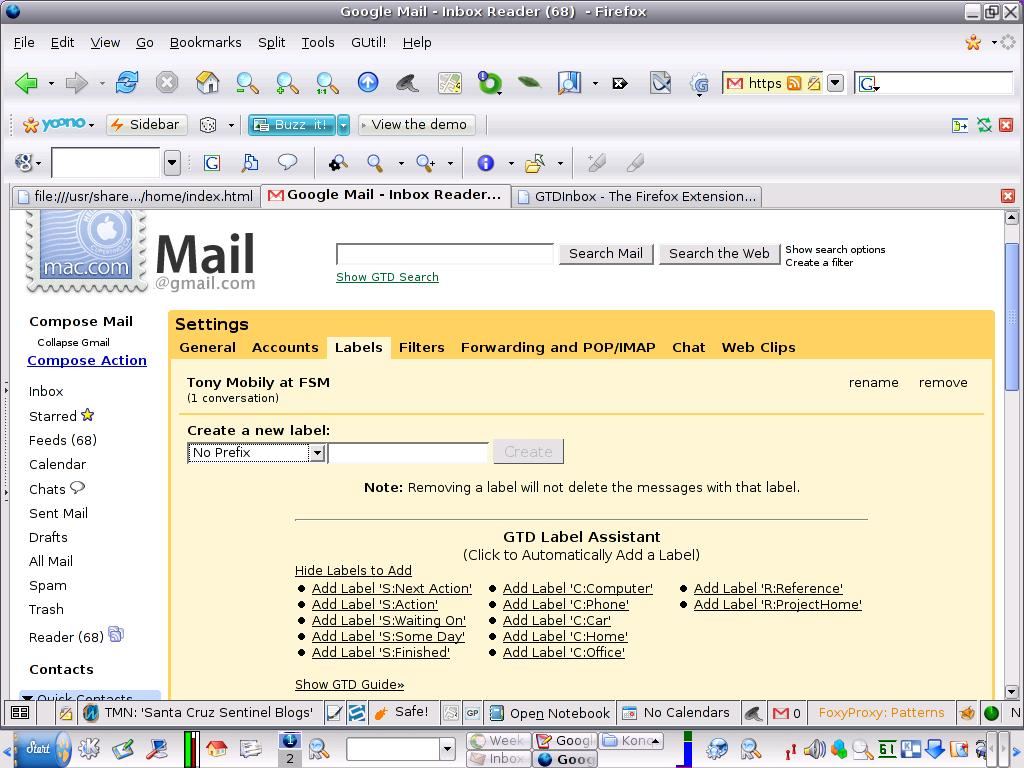Gmail theme extension - Why Not Use A Better Mailed Gmail To Get Stuff Done