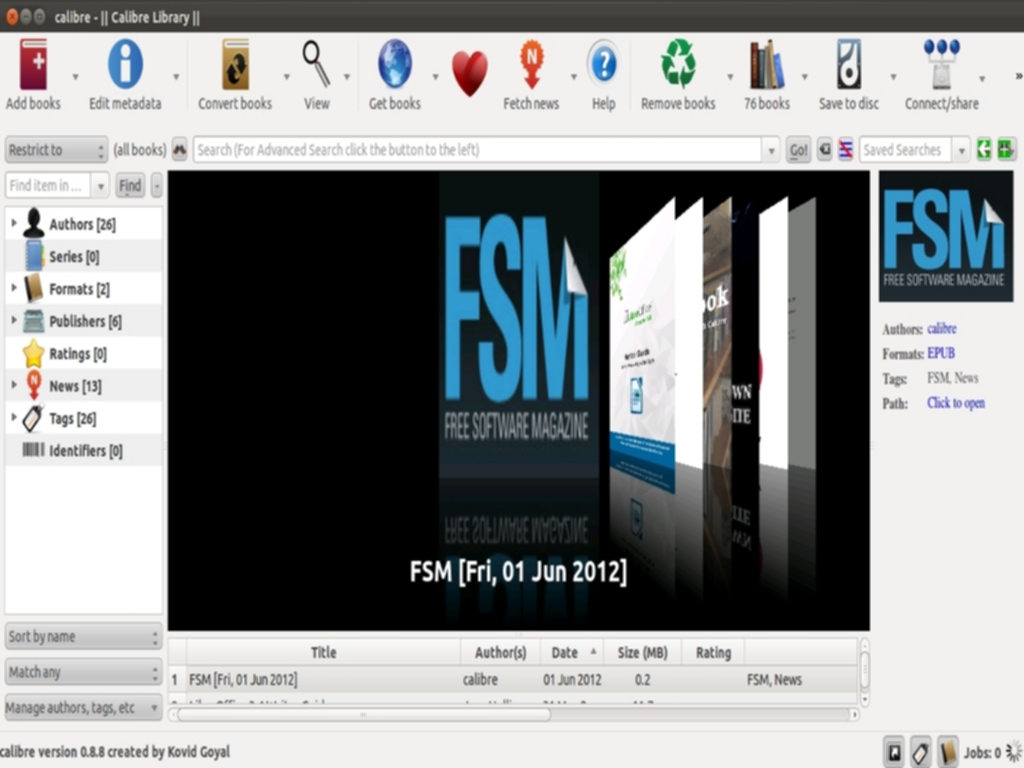 How to Convert RSS Feeds into EPUB files with Calibre
