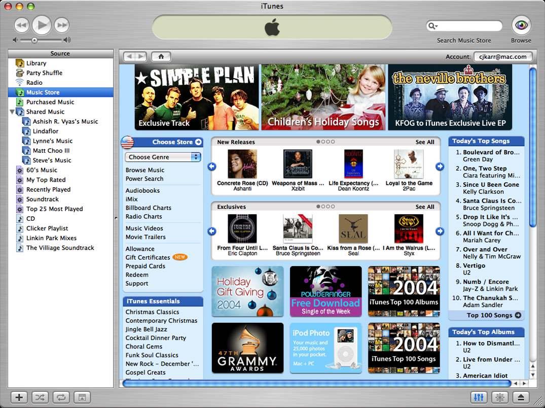 Poking at iTunes