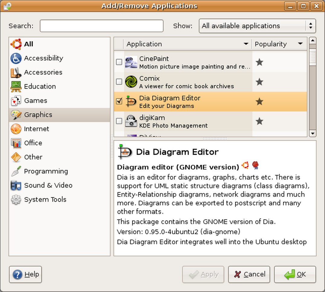 Desktop diagramming with dia and kivio installation ccuart Image collections