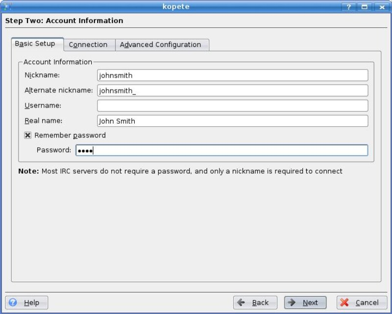 Kopete: the KDE instant messenger