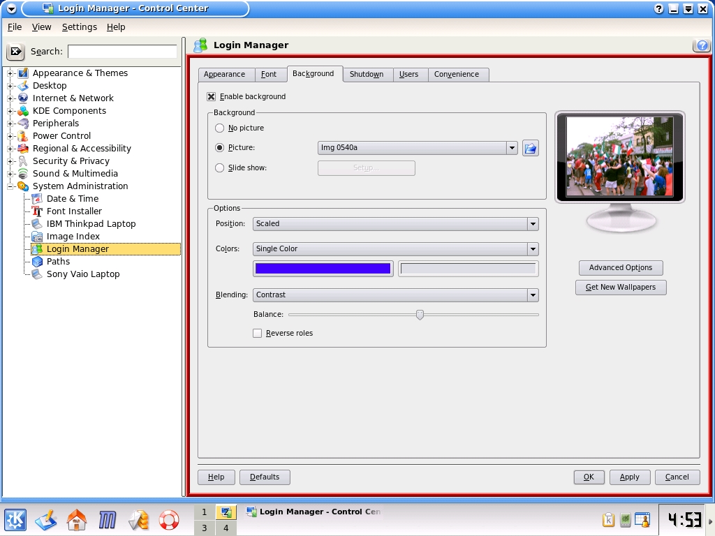 Making KDE look good