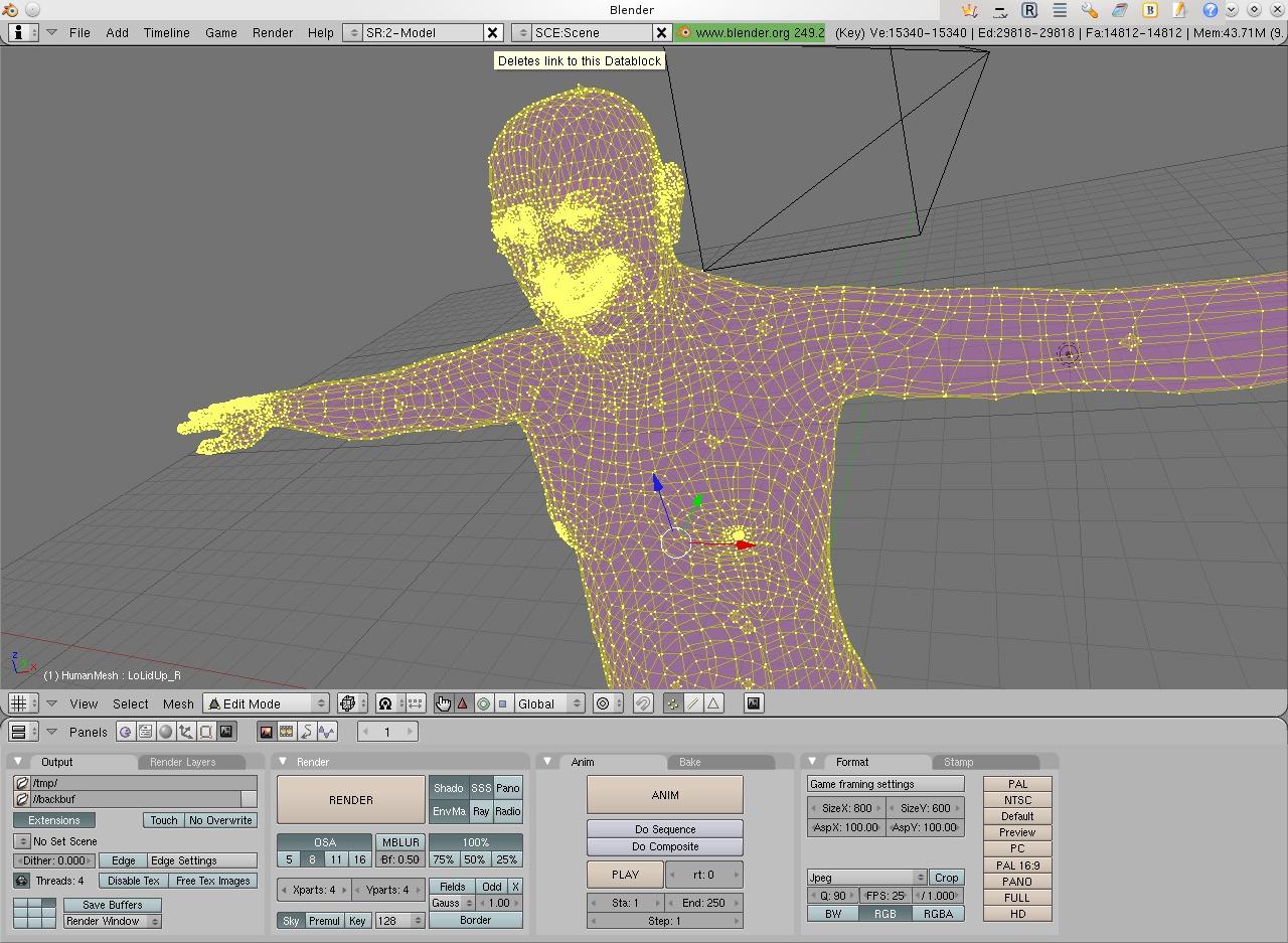 Realistic Character Modeling Blender : Making realistic characters for blender with makehuman