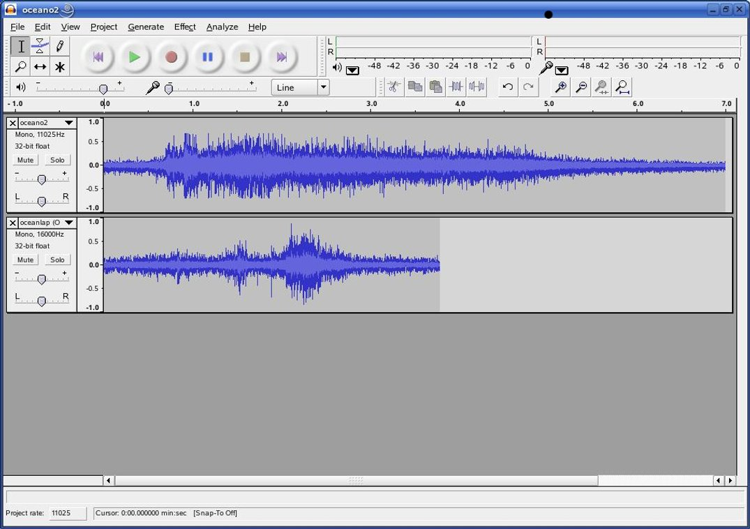 Making waves with Audacity