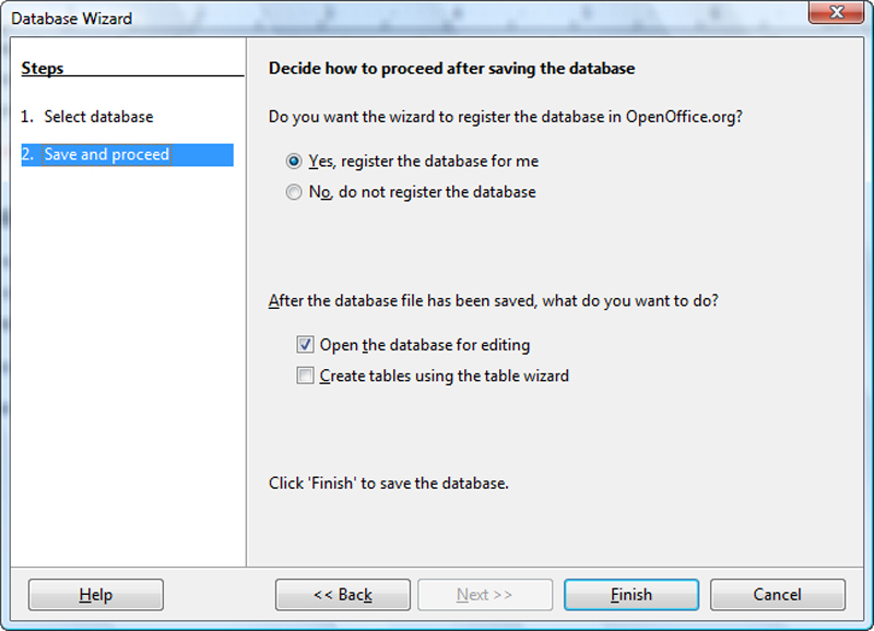 The Simplest Way To Make Databases In Openoffice