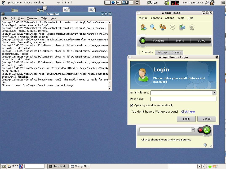 wengophone ubuntu